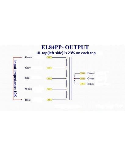 PP UL EL84 0-4-8 OHM