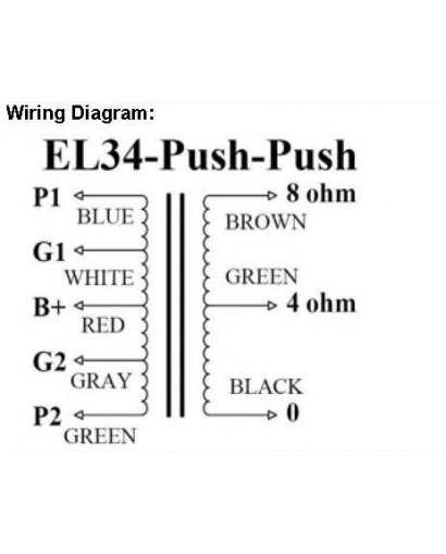 PP UL 5k5 - 4/8 Ohm 50W