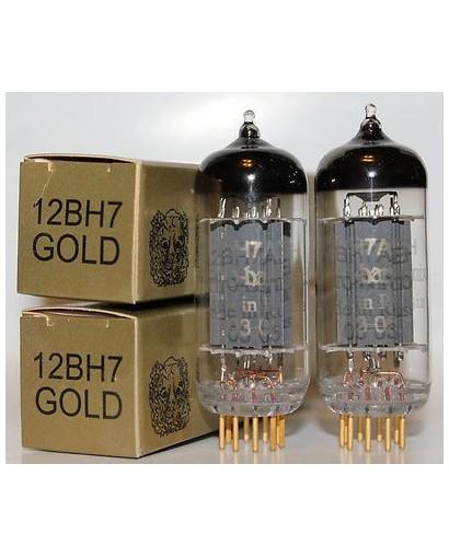 12BH7 GOLD PAIR